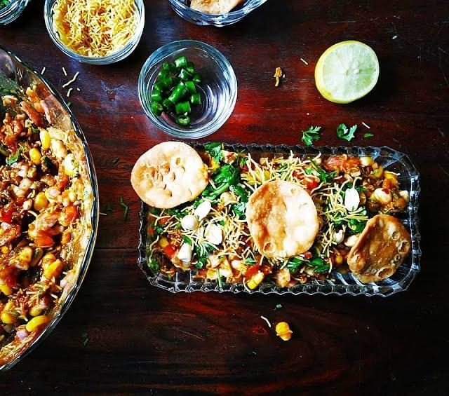 Indian chaat- bengali wedding menu